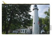 Pointe Aux Barqes Lighthouse Carry-all Pouch