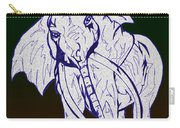Pointillism Elephant Carry-all Pouch