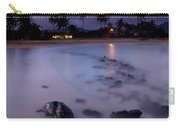 Poipu Evening Storm Carry-all Pouch by Mike  Dawson