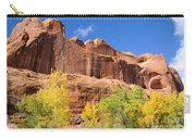 Poison Spider Mesa In The Fall Carry-all Pouch by Gary Whitton