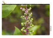 Poke Sallet Blossom Spire - Phytolacca Acinosa  Carry-all Pouch