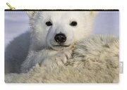 Polar Bear Cub Canada Carry-all Pouch