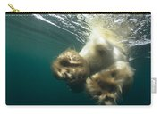 Polar Bear Swiming Away Wager Bay Canada Carry-all Pouch