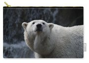 Polar Bear With Waterfall Carry-all Pouch