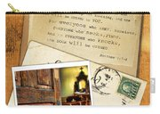 Polaroid Of Open Door To Church With A Bible Verse Carry-all Pouch