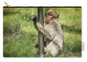 Pole Dancing Macaque Style Carry-all Pouch
