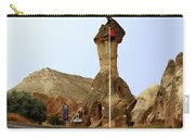 Police Station In Tufa Rock Carry-all Pouch