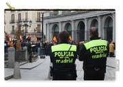 Policia Madrid Carry-all Pouch