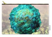 Polio Virus Particle Or Virion Poliovirus 1 Carry-all Pouch by Russell Kightley