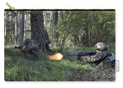 Polish Soldiers Engage In Simulated Carry-all Pouch