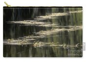 Pond And Grass Abstract Carry-all Pouch
