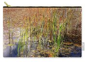 Pond And Rushes Carry-all Pouch