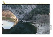 Pond Dark Ardeche France Carry-all Pouch