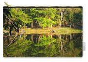 Pond Reflection Guatemala Carry-all Pouch