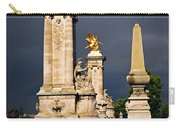 Pont Alexander IIi In Paris Before Storm Carry-all Pouch by Elena Elisseeva