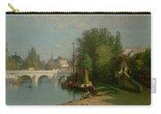 Pont Du Carrousel Carry-all Pouch