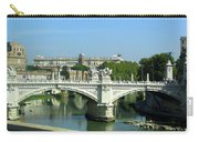 Ponte Sant'angelo In Rome Carry-all Pouch
