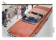 Pontiac Advertisement 1957 Carry-all Pouch