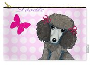 Poodle Cartoon Carry-all Pouch