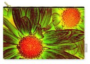 Pop Art Daisies 5 Carry-all Pouch