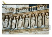 Popes At Notre Dame Cathedral Carry-all Pouch