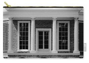 Poplar Forest South Portico Bw Carry-all Pouch