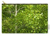 Poplar Tree And Leaves No.368 Carry-all Pouch
