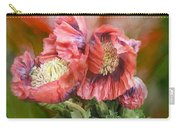 Poppies Big And Bold Carry-all Pouch
