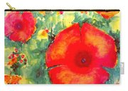 Poppies Face To The Sun Carry-all Pouch