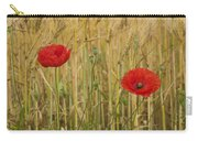 Poppies  In A Field Of Barley Carry-all Pouch