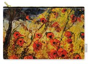 Poppies In Provence 456321 Carry-all Pouch