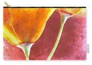 Poppies On Red  Carry-all Pouch