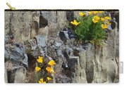 Poppies On The Cliff Carry-all Pouch