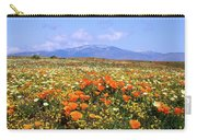 Poppies Over The Mountain Carry-all Pouch