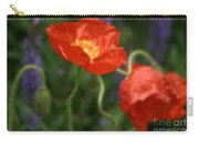 Poppies With Impressionist Effect Carry-all Pouch