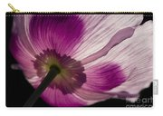 Poppy Detail 1 Carry-all Pouch