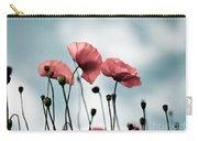 Poppy Flowers 07 Carry-all Pouch by Nailia Schwarz