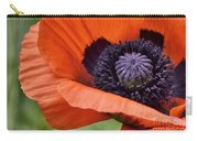 Poppy For Peace Carry-all Pouch