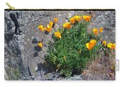 Poppy On The Rocks Carry-all Pouch