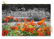 Poppy Seed Bench Carry-all Pouch