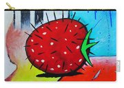 Porcupine Strawberry Carry-all Pouch