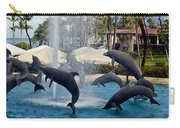 Porpoise Statues   Maui Hawaii Carry-all Pouch