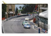 Porsches At Monte Carlo Casino Square Carry-all Pouch by John Bowers