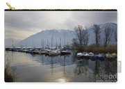Port With Snow-capped Mountain Carry-all Pouch