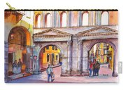 Porta Borsari Verona  First Century Ad Roman Gate Carry-all Pouch