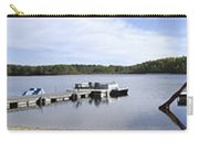 Portage Lake Panorama Carry-all Pouch