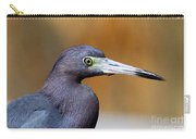 Portait Of A Little Blue Heron Carry-all Pouch