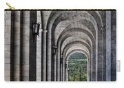 Portico From The Valley Of The Fallen Carry-all Pouch by Mary Machare