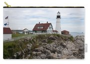 Portland Head Light Cape Elizabeth Fort Williams Maine Carry-all Pouch
