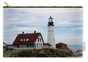 Portland Head Light Cape Elizabeth Maine Carry-all Pouch